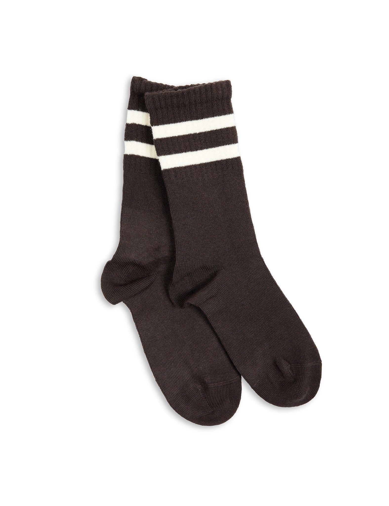 Stripe sock - brown - KID
