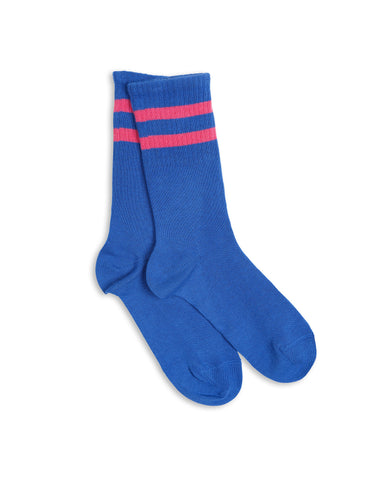 Stripe sock - blue