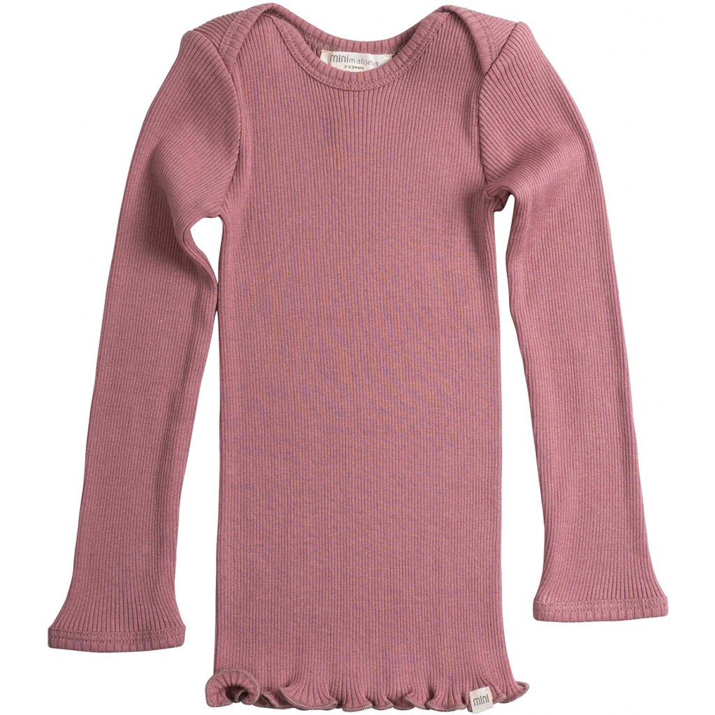 Belfast ls blouse - cozy rose