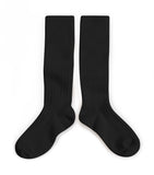 Knee high socks - noir de charbon