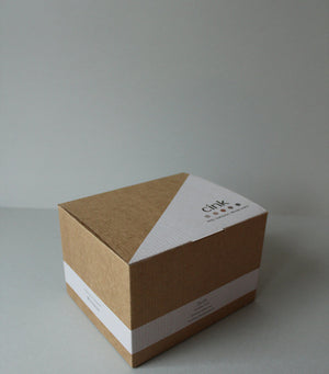 Bamboo giftbox for babies - rye