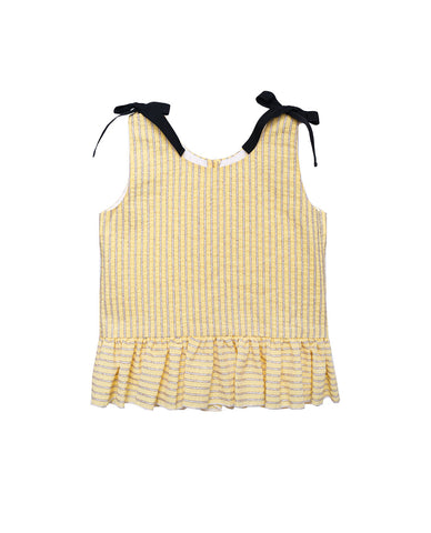 Blouse auguste // yellow
