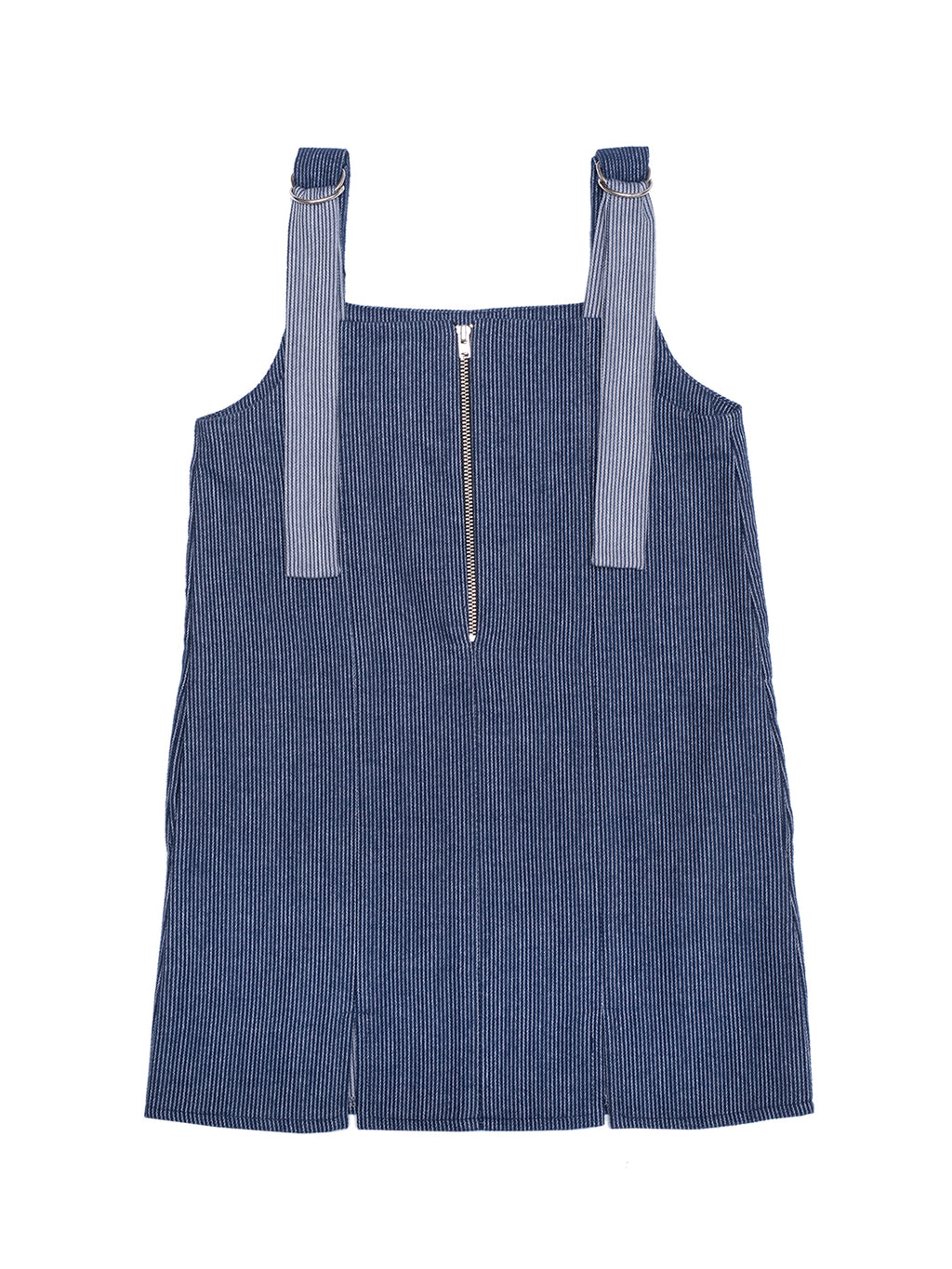 Cotton Pinafore Dress Jamie - Blue