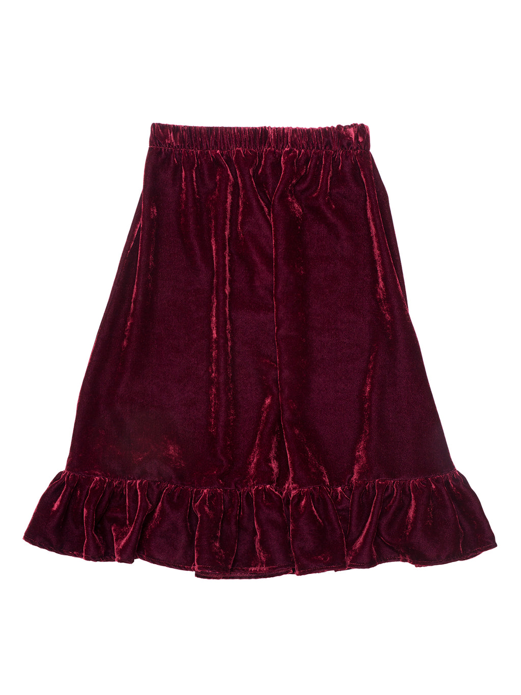 Velvet Skirt Frankie - Red