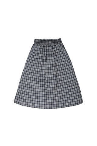 Alma Checked Skirt