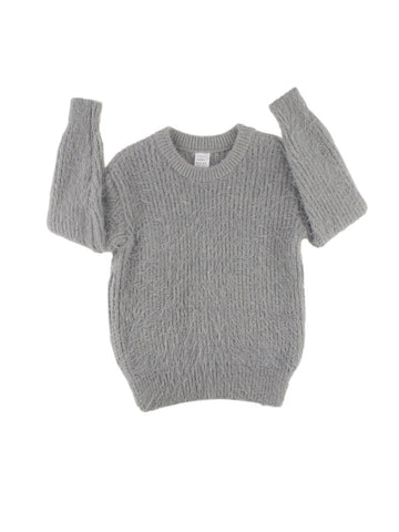 Hairy sweater - light grey