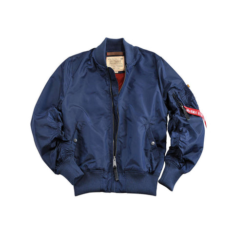 MA-1 TT bomber jacket - republic blue