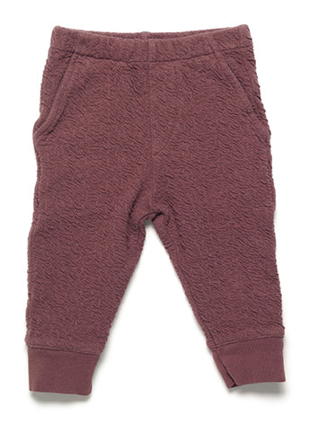 Binky Textured jogging - raisin