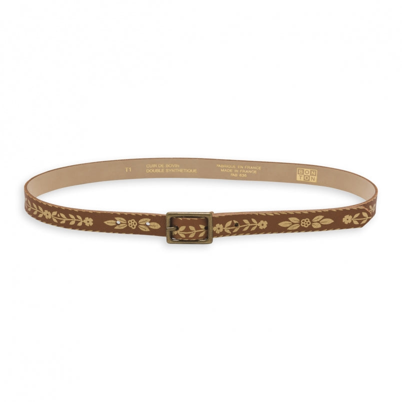 Ceintfleur Girl Belt - Marron
