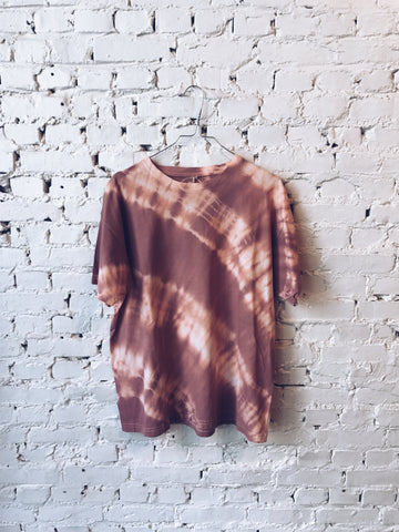 Oversized T-shirt - old pink