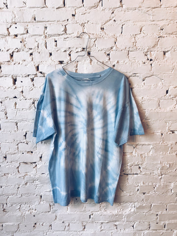 Oversized T-shirt - light blue