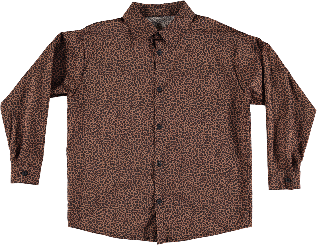 Printed Shirt - Light Leopard