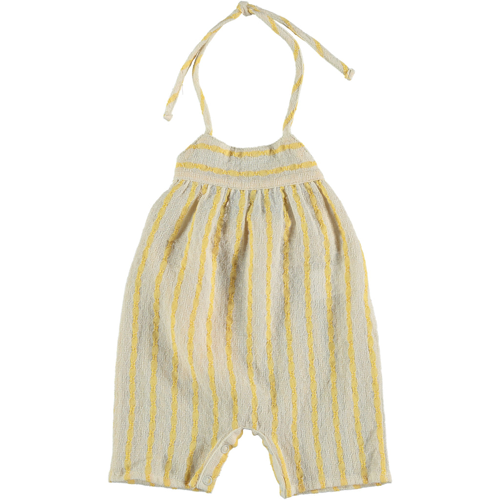 Citronnier Jumpsuit - Yellow Stripes