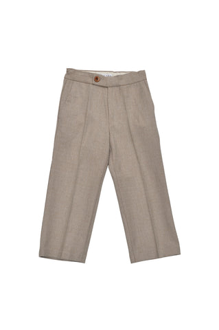 Straight Leg Trousers - Mocha