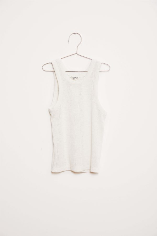Basic Tank Top - White