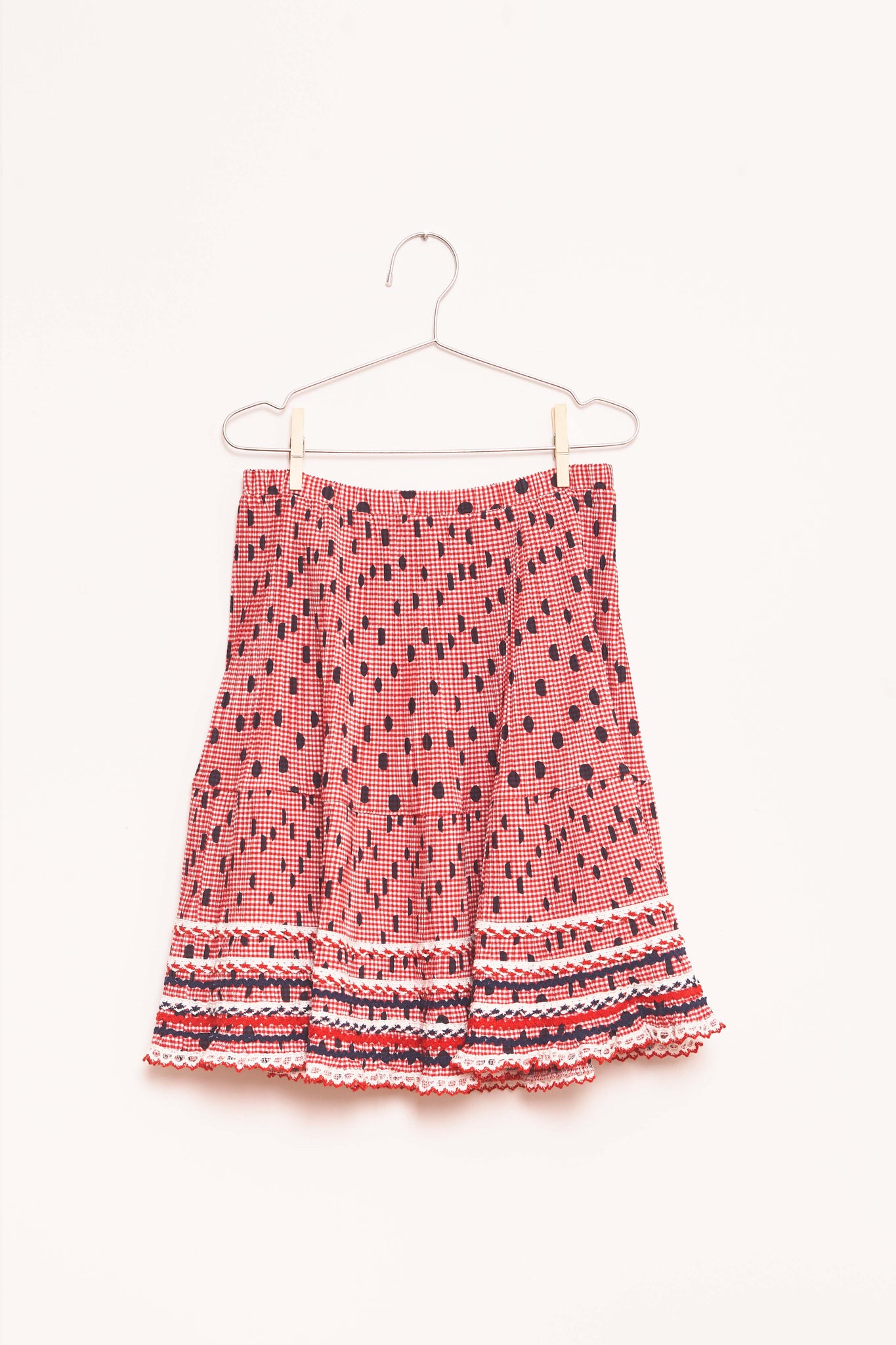 Dots Skirt - Red