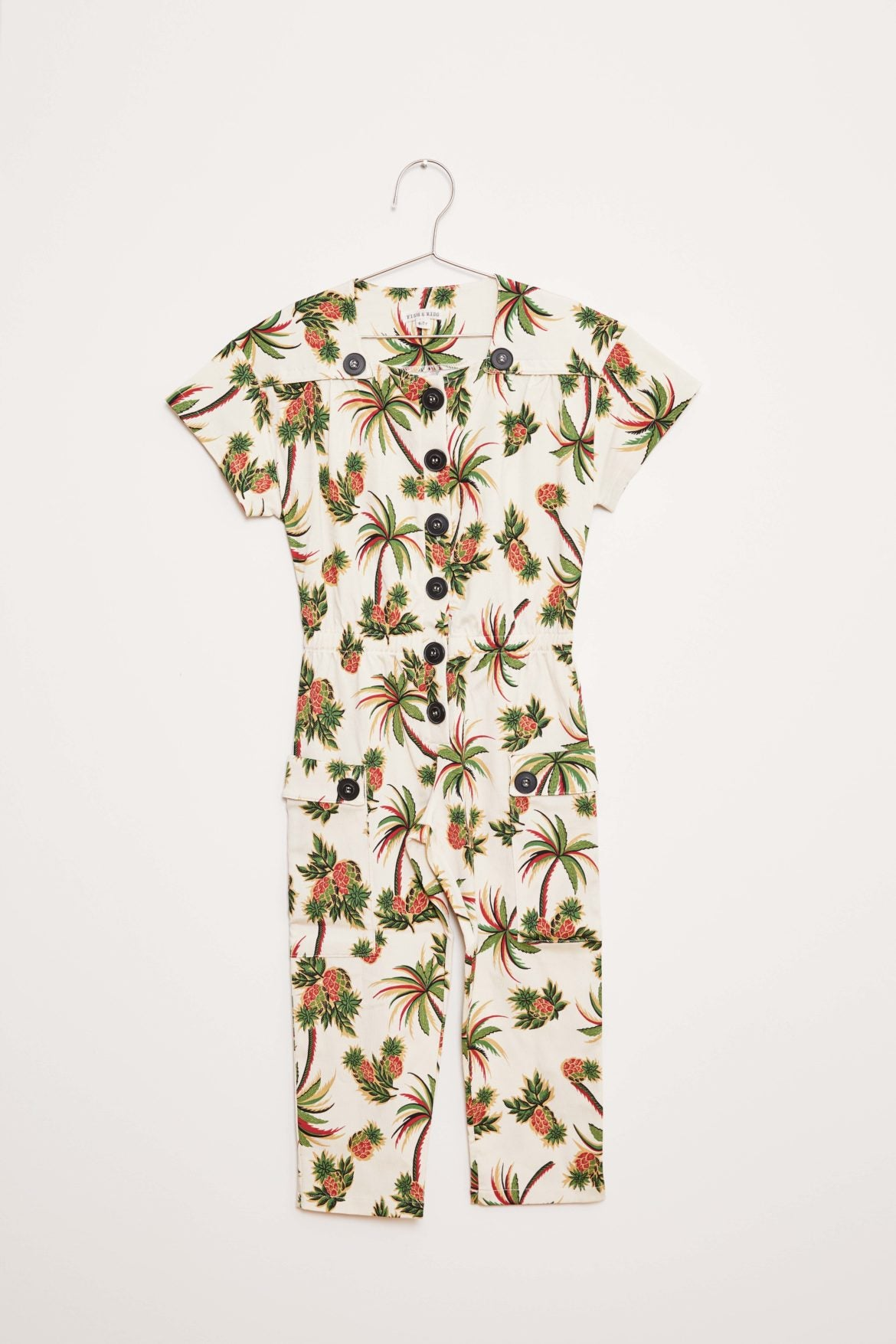 Palm Jumpsuit - Ecru