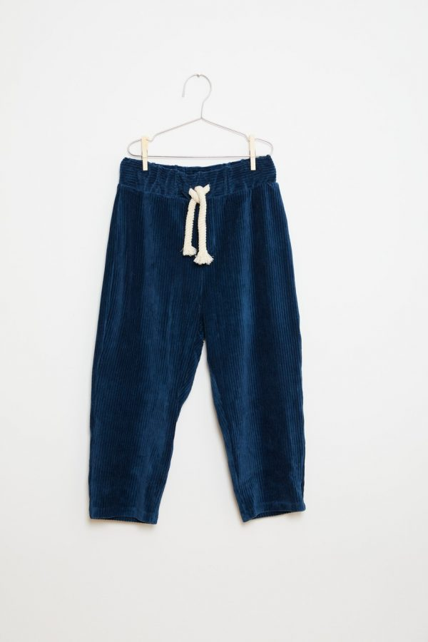 Pants - Corduroy Blue