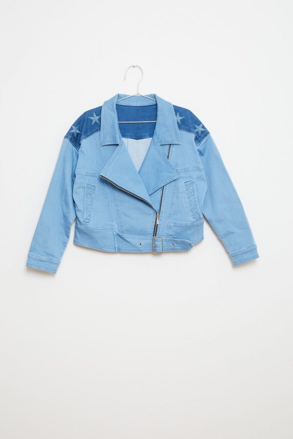Jacket - Denim Stars