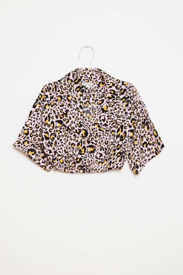 Crop Top - Leopard