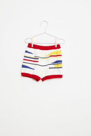 Knitted Shorts - Sailor