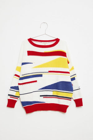 Knitted Sweater - Sailor