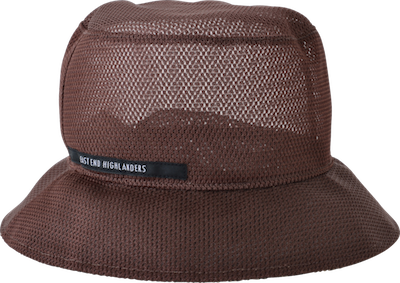Mesh bucket hat // brown