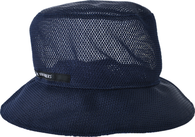Mesh bucket hat // navy