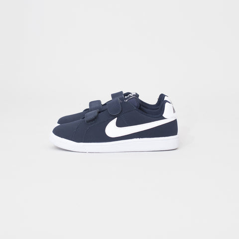 Court royale kids - obsidian/white