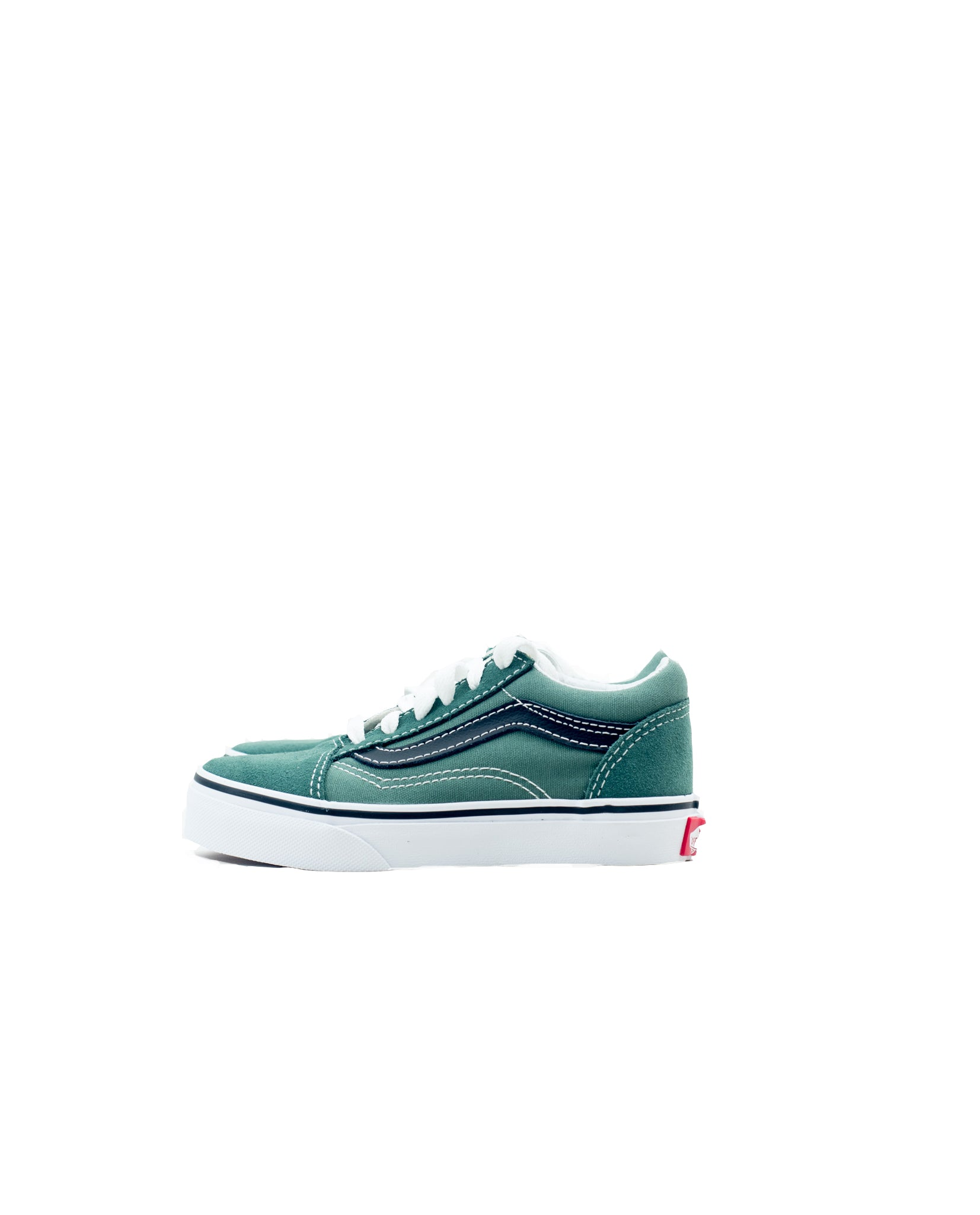 Kids old skool  - duck green/black