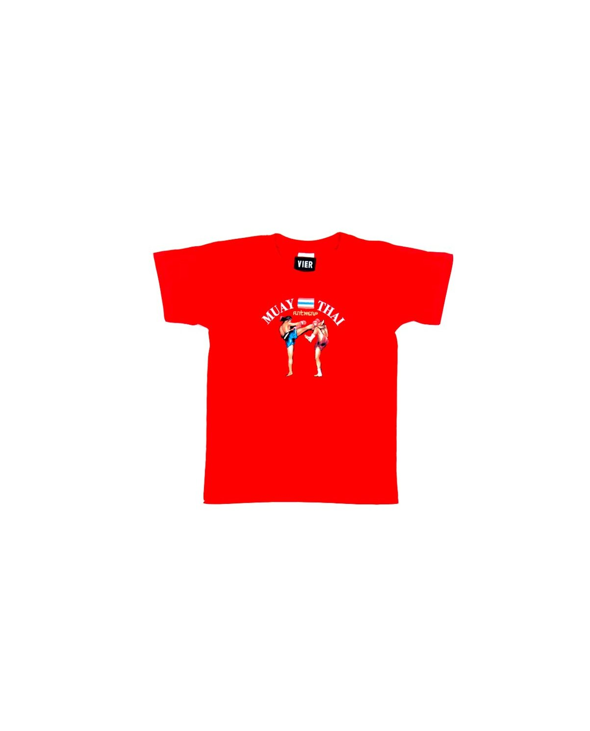 ANTWERP muay thai tee - red