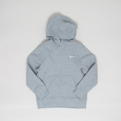 Nike brushed fleece hoodie - grey melange