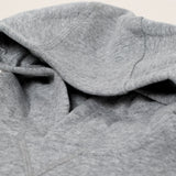 Nike brushed fleece hoodie - grey melange - KID - 3