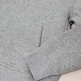 Nike brushed fleece hoodie - grey melange - KID - 4