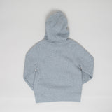 Nike brushed fleece hoodie - grey melange - KID - 5