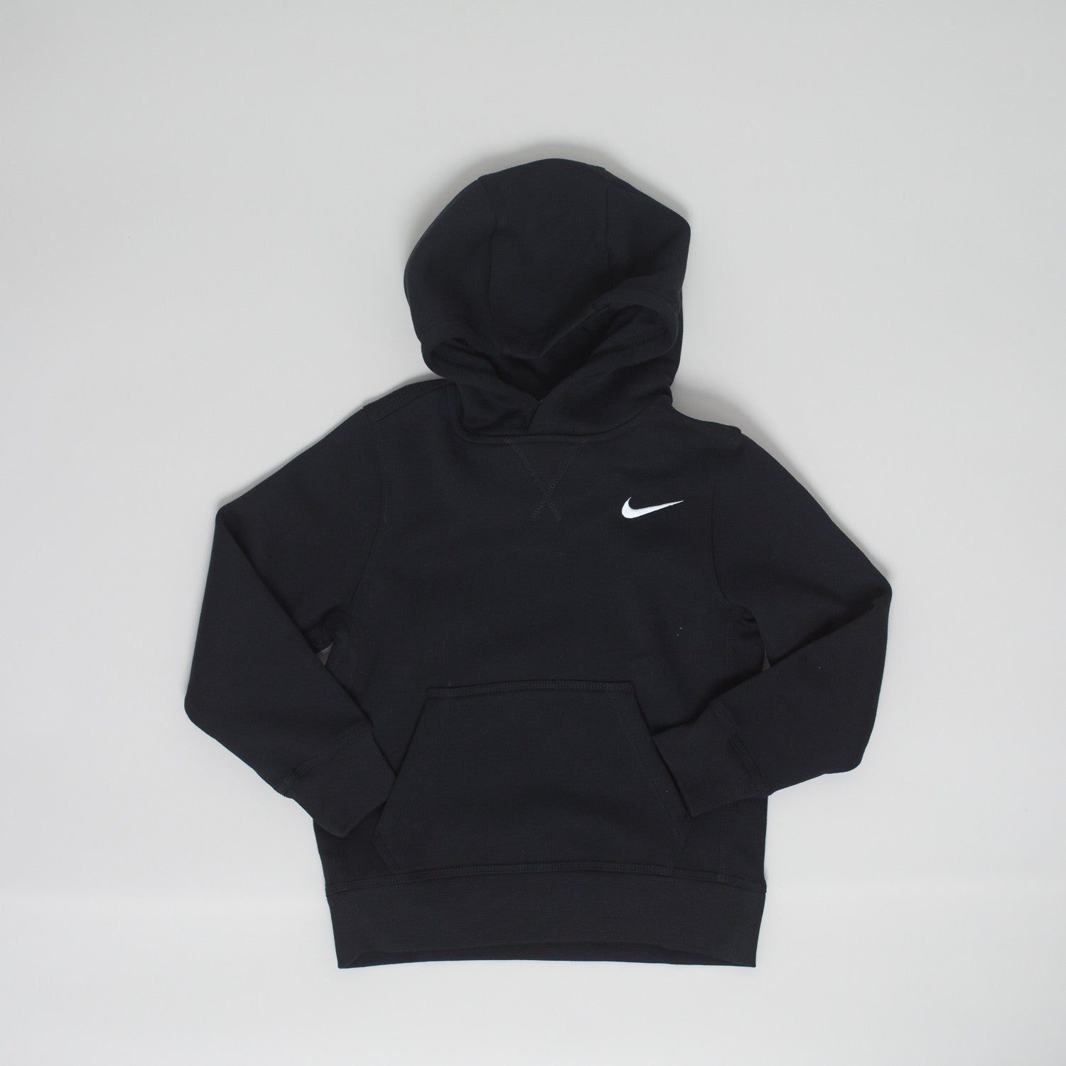 Nike brushed fleece hoodie - black - KID - 1