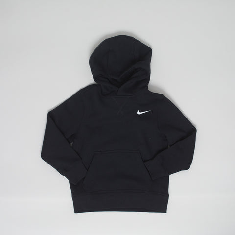 Nike brushed fleece hoodie - black