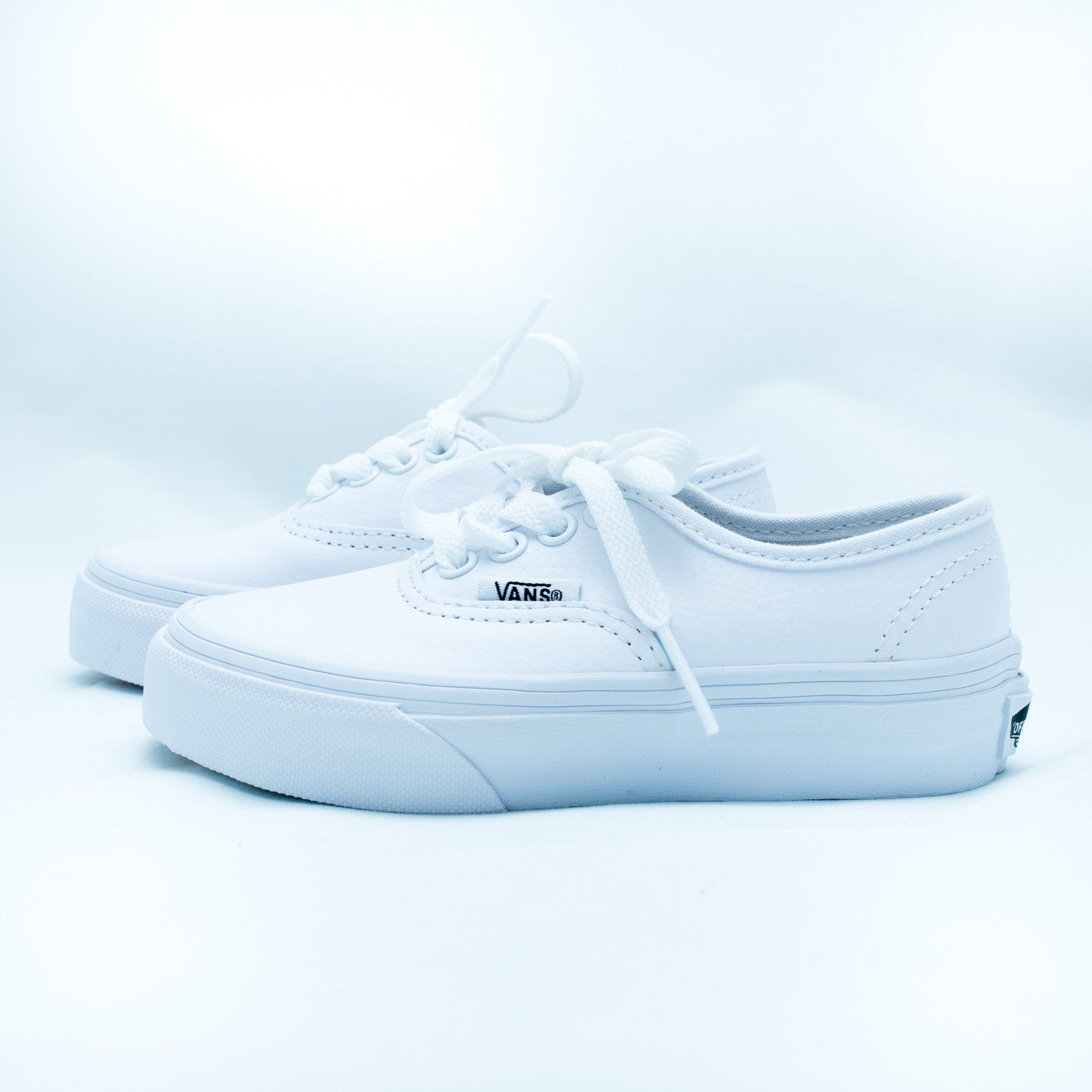 Leather authentic - white - KID - 1
