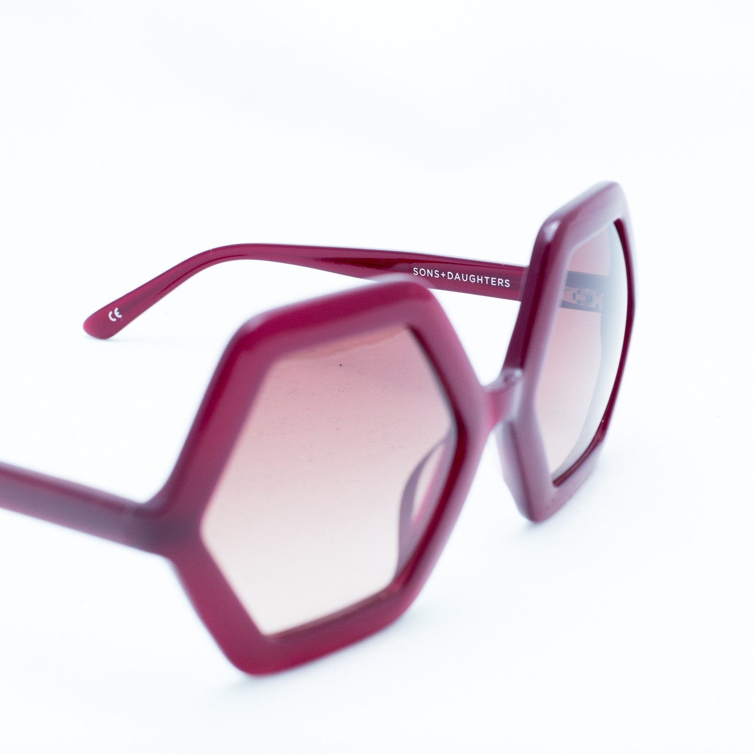 Honey sunglasses - burgundy - KID - 2