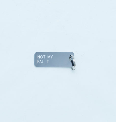 Key tag - not my fault