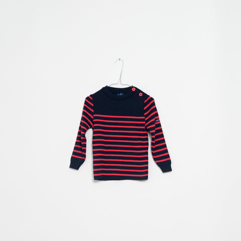 Moussaillon navy/red