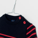 Moussaillon navy/red - KID - 4