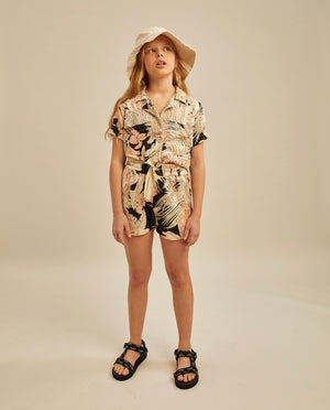 Aiko shirt - Tropical Print