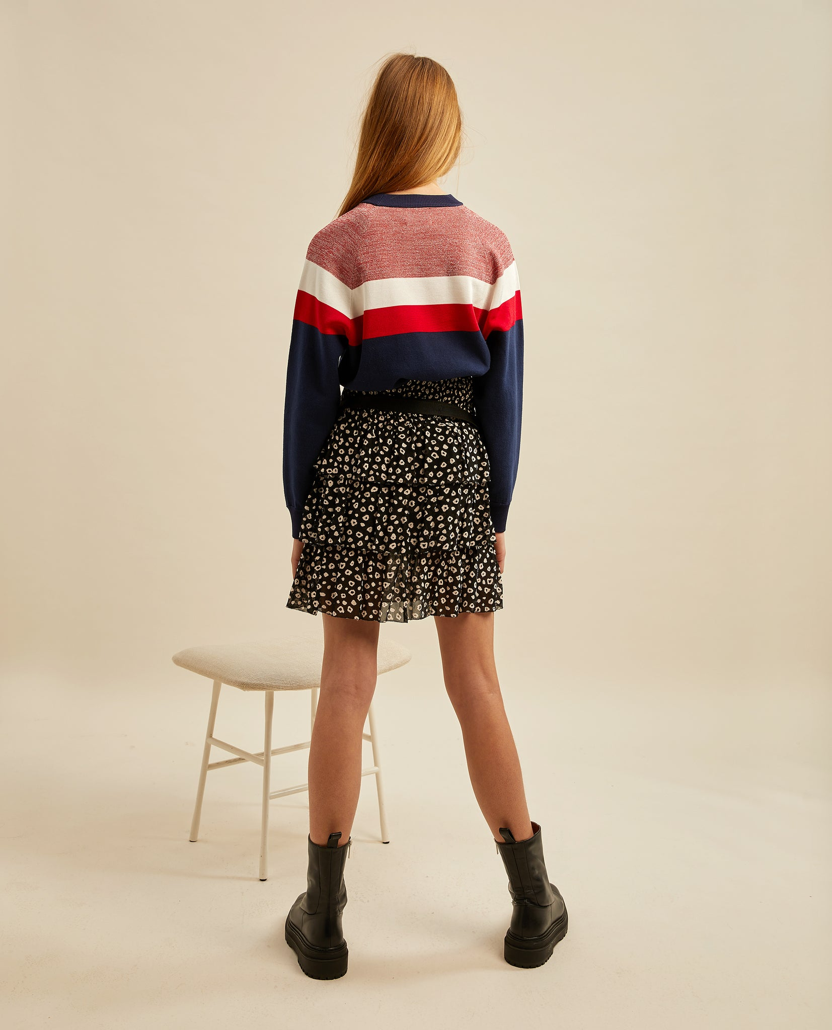 Brit jumper - Colour Block