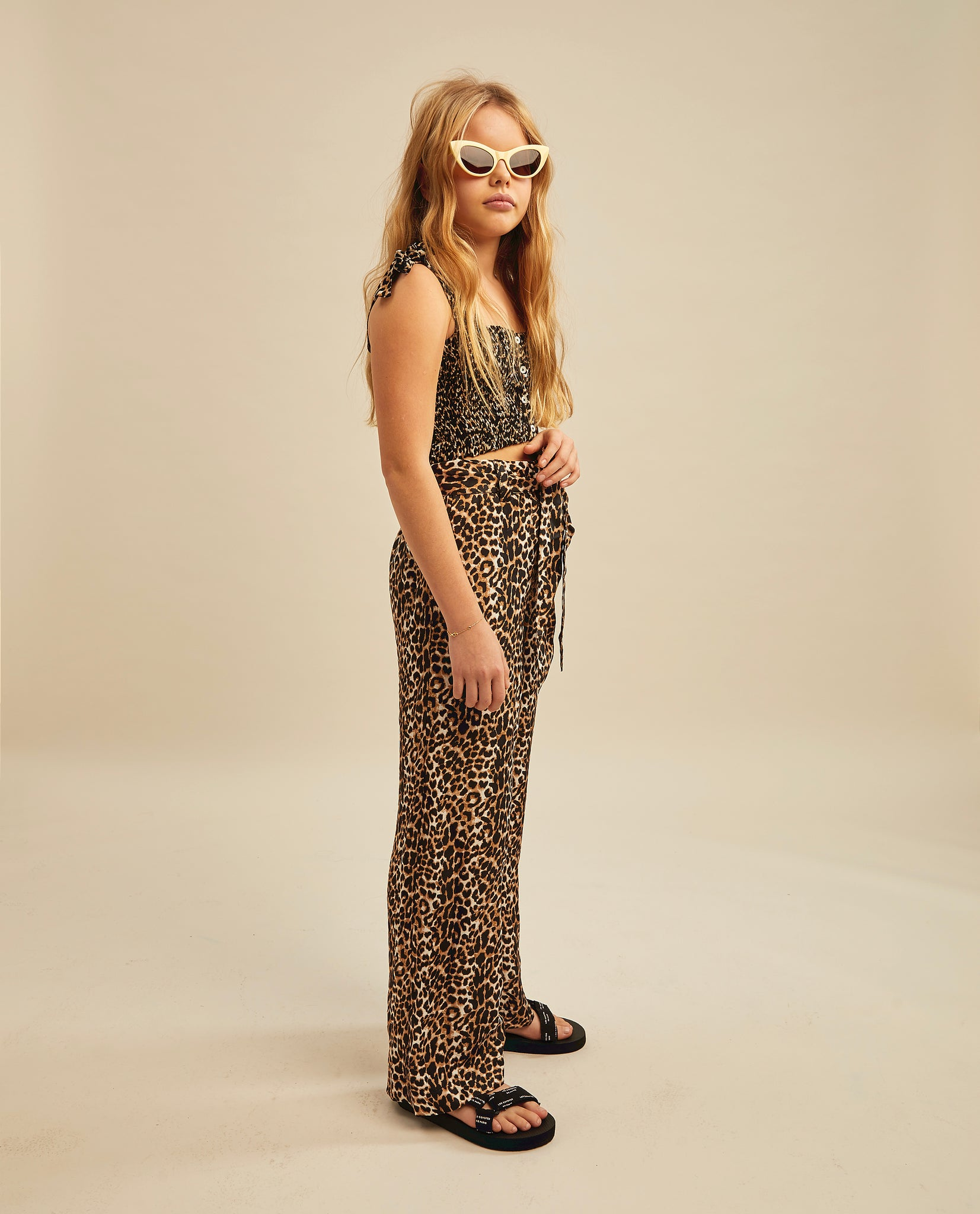 Taylor trousers - Leopard