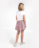 Rosa pleated skirt - blush