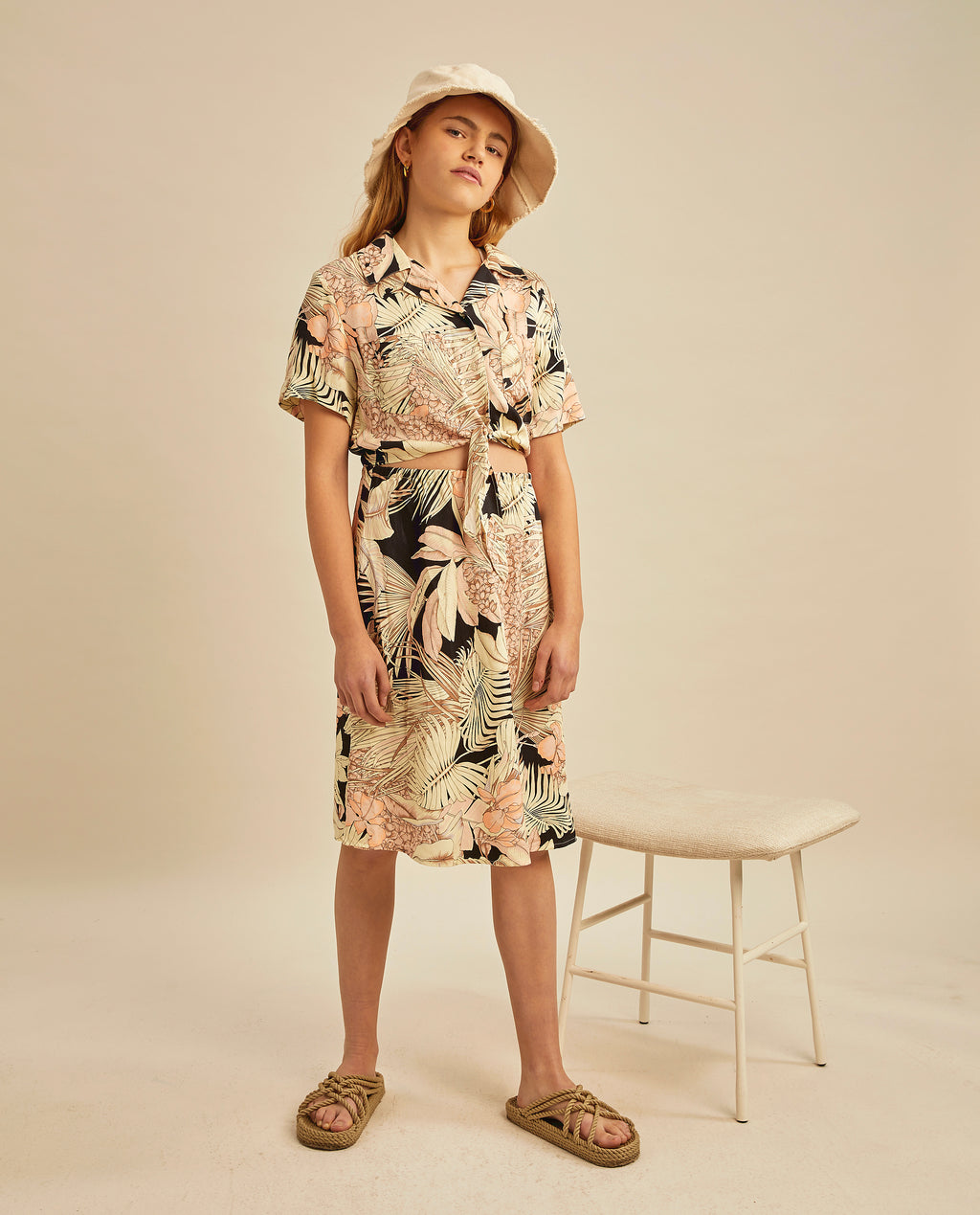 Fifi dress - Tropical Print