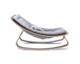 Baby rocker levo walnut- sweet grey - KID - 2