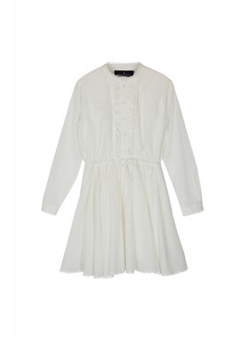 Derrek shirtdress - White