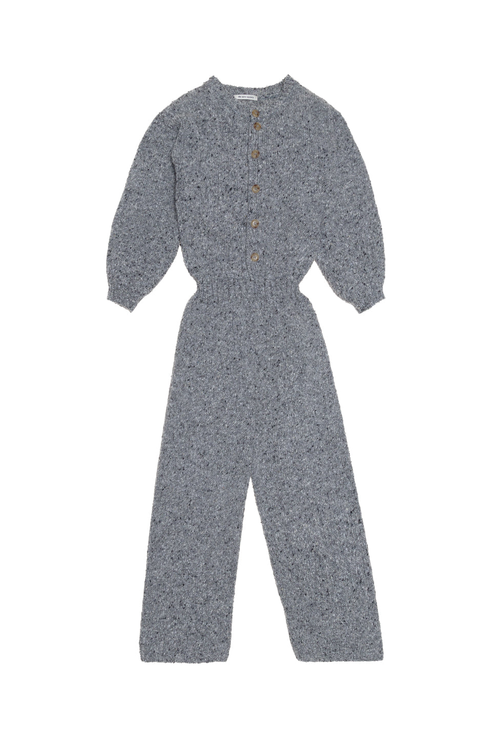 Maia Knit Jumpsuit - Grey Melange